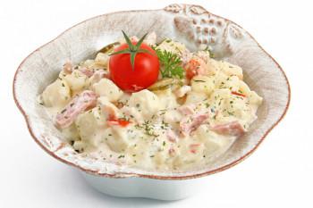 Salade Auvergnate au jambon